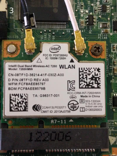 Michael Abrahamsen – Replace WLAN / Wifi Card on Lenevo